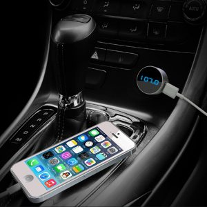 Listen to music in your car without bluetooth or aux