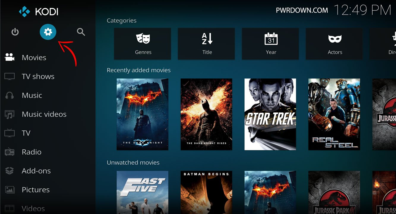 Kodi Wookie Build installation part 1