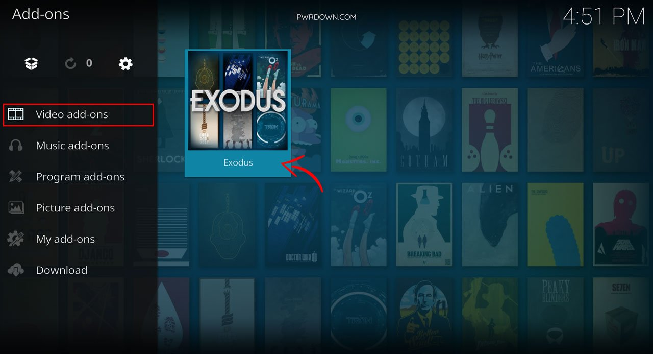 Download movies and tv shows from Kodi guide part 1