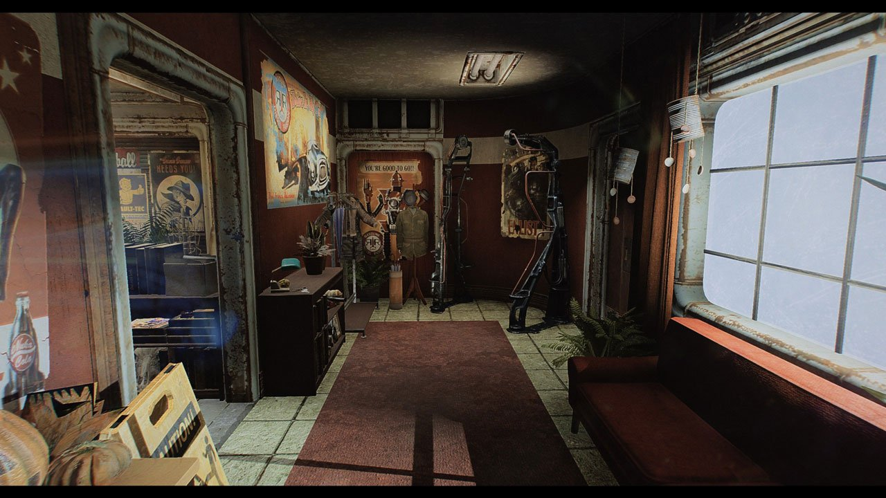 Fallout 4 Rockin Red Rocket Mod
