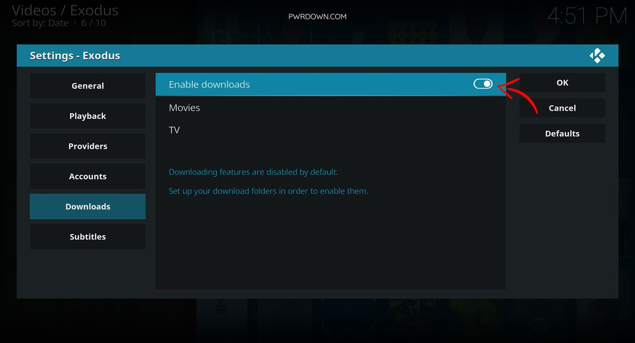 Download movies and tv shows from Kodi guide part 4