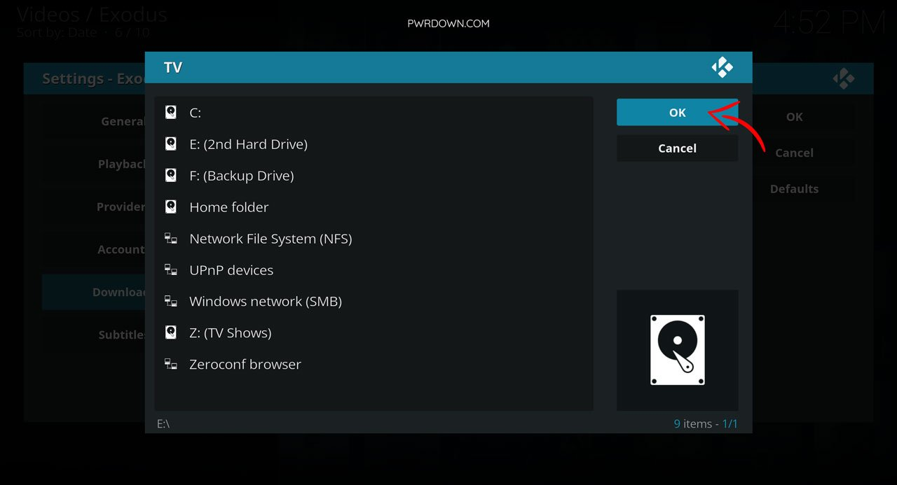 Download movies and tv shows from Kodi guide part 6