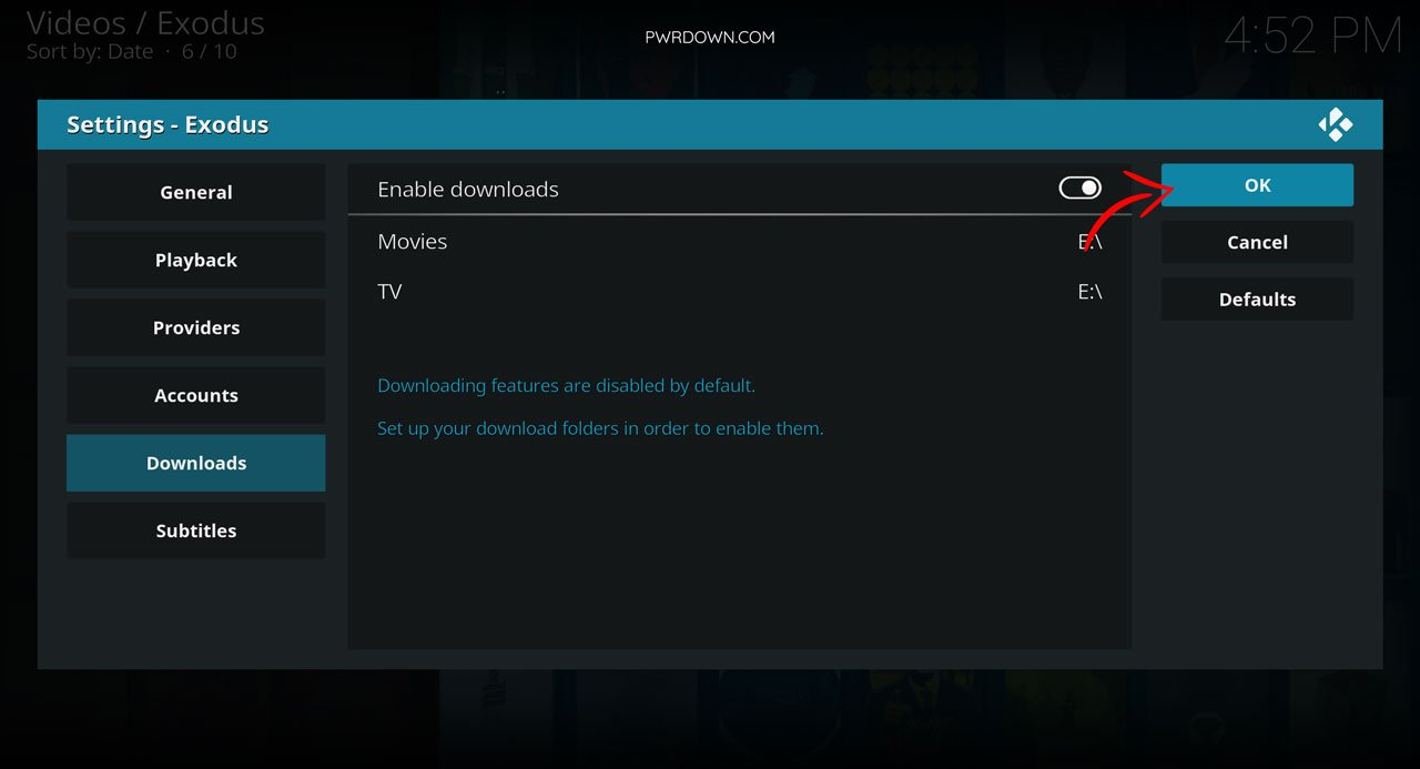 Download movies and tv shows from Kodi guide part 7