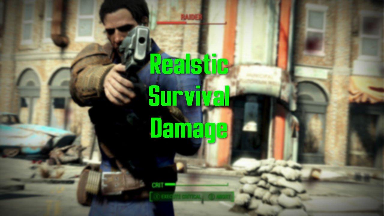 Fallout 4 Mods Survival Damage