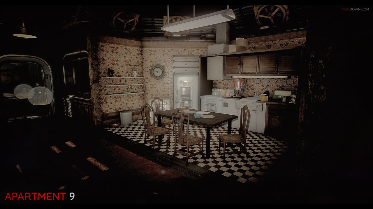 fallout 4 apartment 9 kitchen built into lounge