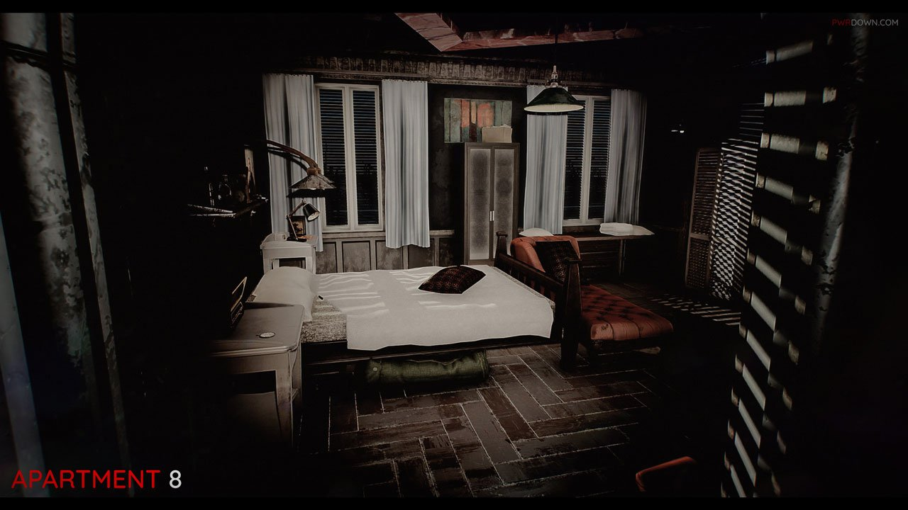 Fallout 4 Apartments Bedroom In Apartment 8