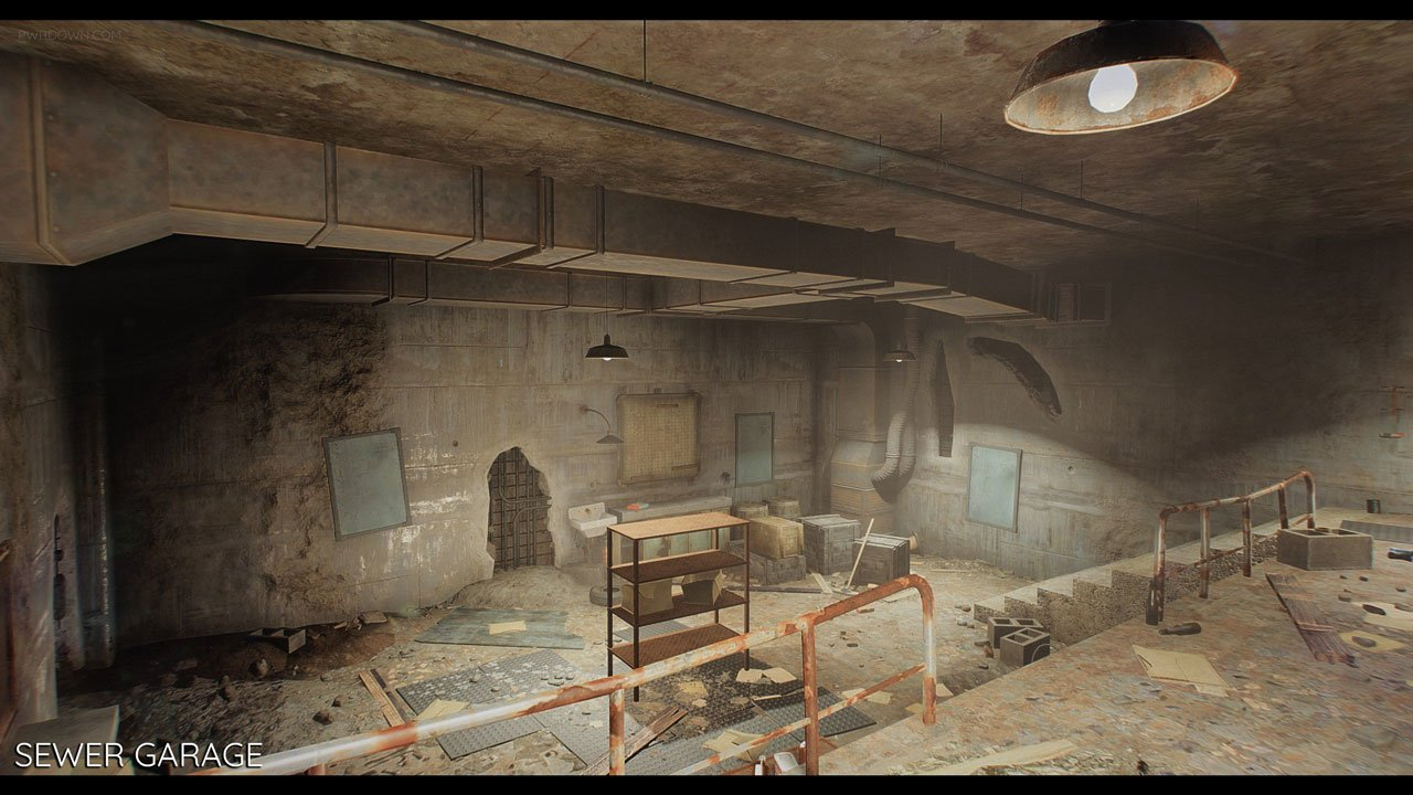 fallout bunkers mod new player homes pwrdown