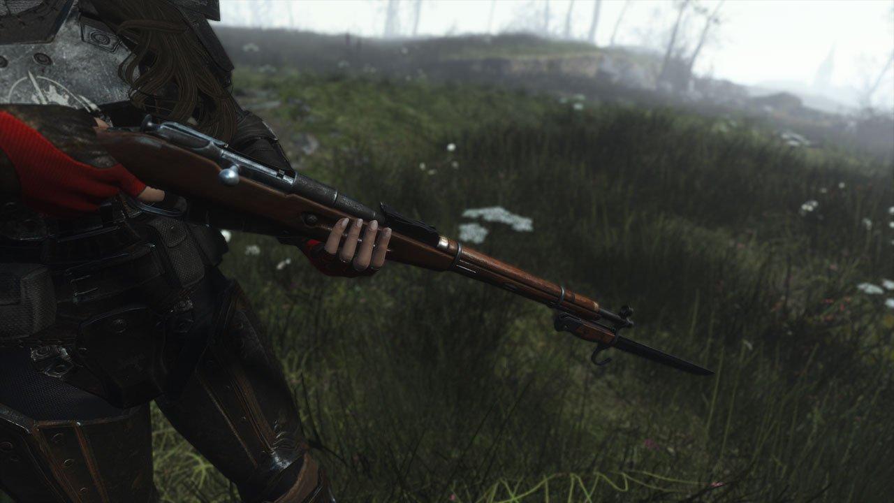mosin nagant sniper rifle fallout 4
