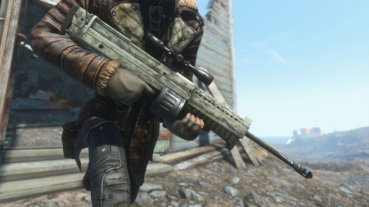 the bozar automatic sniper rifle fallout 4