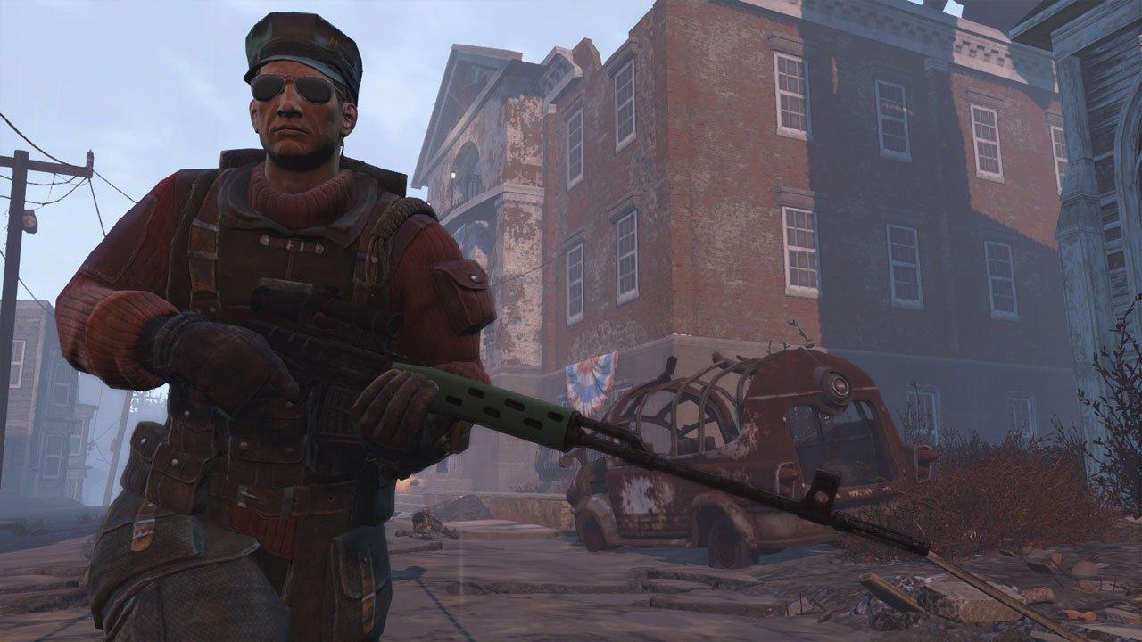 dragunov sniper rifle fallout 4