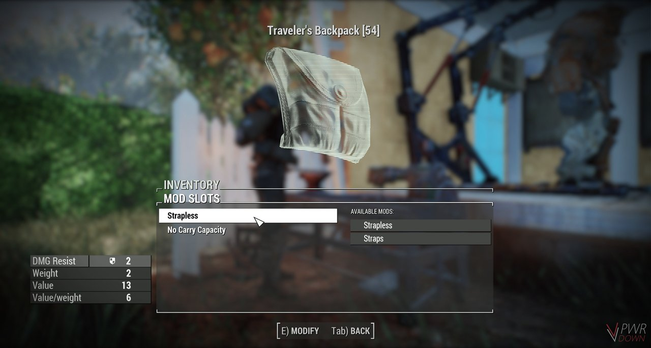 travellers backpack customisation options