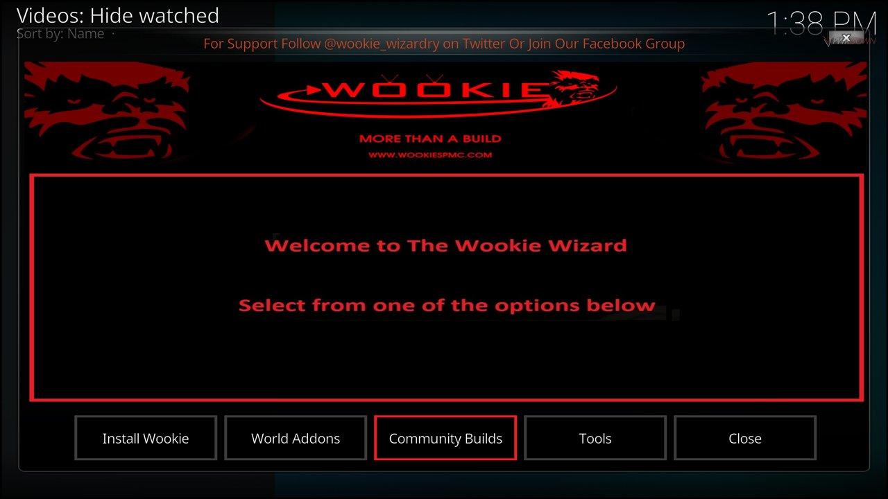 Mega Wookie Build