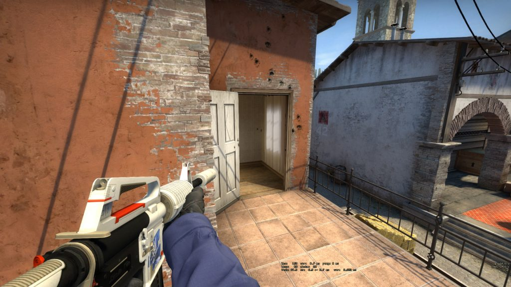 CSGO Holding balcony looking into apartments