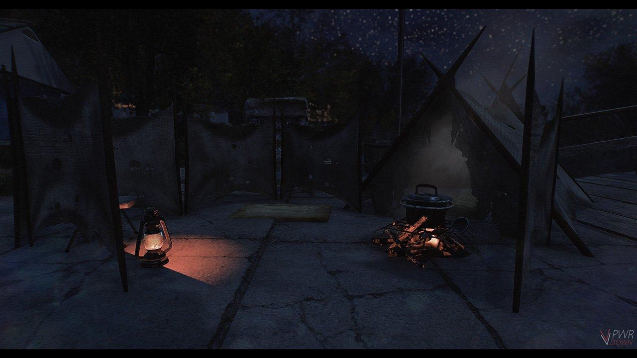 Fallout 4 Camping mod